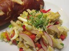 Salate: Fränkischer Weißwurstsalat - Rezept - Bild Nr. 5605