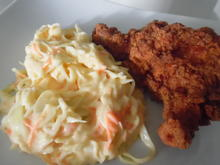 Fried Chicken mit Coleslaw - Rezept - Bild Nr. 5605