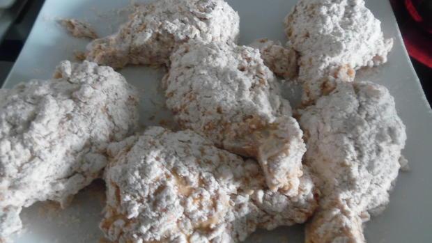 Fried Chicken mit Coleslaw - Rezept - Bild Nr. 5606