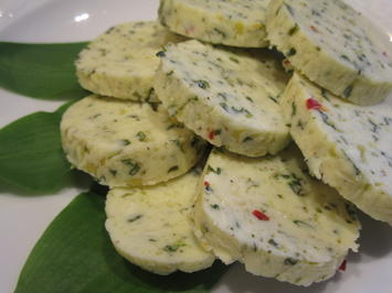 Butter: Bärlauch-Zitronen-Butter mit Chili - Rezept - Bild Nr. 5610