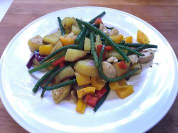 Hähnchen-Kartoffel-Pfanne - Rezept - Bild Nr. 5610