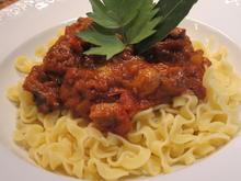 Pasta: Pasta Con Carne Alla Griglia e Pomodori - Rezept - Bild Nr. 5610