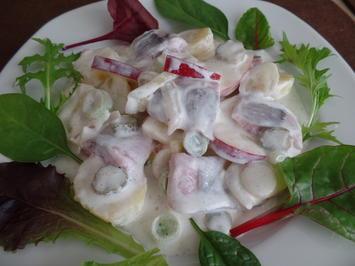Rezept: Kartoffel-Matjes-Salat