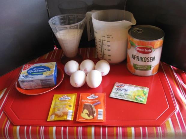 Rührkuchen mit Aprikosen - Rezept - Bild Nr. 3