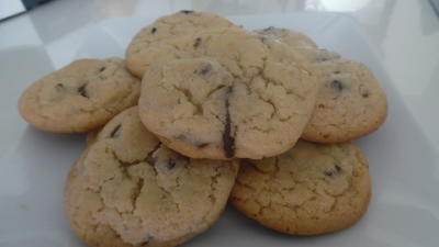 Rezept: Chocolate chip cookies