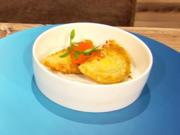 Rissois (portugiesische Teigtaschen) gefüllt mit Blue Marlin (Milka Loff Fernandes) - Rezept - Bild Nr. 2