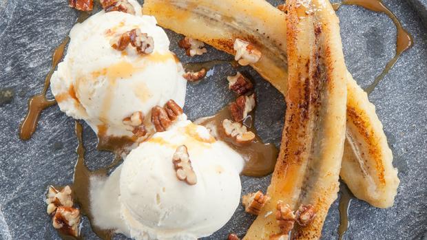 Chunky Banana Split mit Vanilleeis - Rezept - Bild Nr. 2
