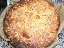 Käsekuchen mit Birnen ohne Boden - Rezept - Bild Nr. 5616