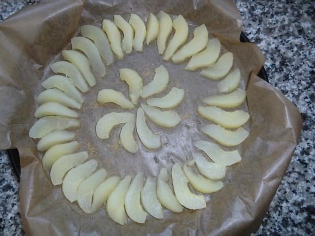 Käsekuchen mit Birnen ohne Boden - Rezept - Bild Nr. 5618