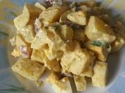 Kartoffelsalat in Currysoße - Rezept - Bild Nr. 2
