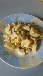 Rezept: Kartoffelsalat in Currysoße