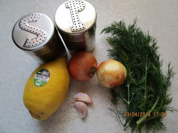 Seelachsfilet in Zitronen-Dill-Sahne-Senf-Sauce - Rezept - Bild Nr. 5647