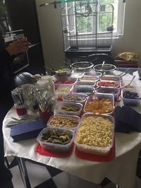 Party-Buffet für Anlässe bis 40 Personen - Rezept - Bild Nr. 5648