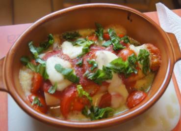 Spargel mit Tomaten und Mozzarella überbacken - Rezept - Bild Nr. 5651