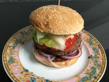 Rezept: Tim´s BBQ Bacon & Beef Burger