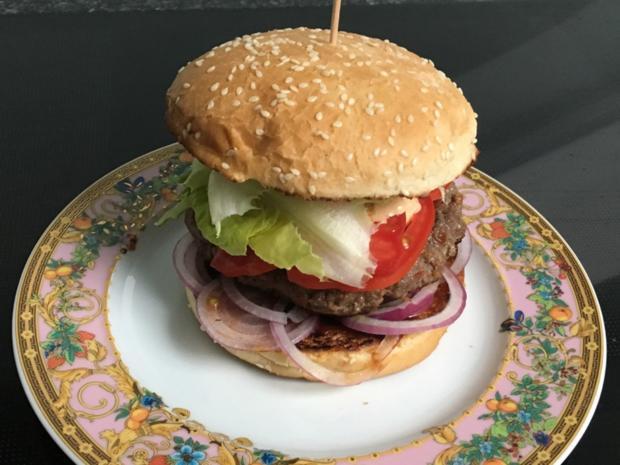 tim s bbq bacon beef burger rezept. Black Bedroom Furniture Sets. Home Design Ideas