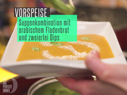 Suppen-Dreierlei mit Mandel-Dattel-Topping - Rezept - Bild Nr. 2