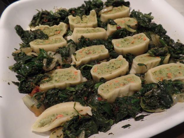 Gemüse-Maultaschen -Spinat-Auflauf - Rezept - Bild Nr. 5656