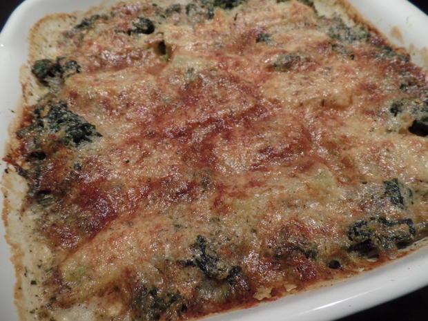 Gemüse-Maultaschen -Spinat-Auflauf - Rezept - Bild Nr. 5659