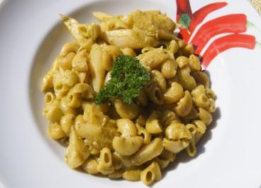 Pasta mit Spargel und Petersilien-Pesto - Rezept - Bild Nr. 5650