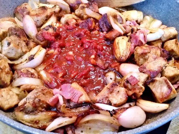 Paprika-Ragout vom Schwein - Rezept - Bild Nr. 5654