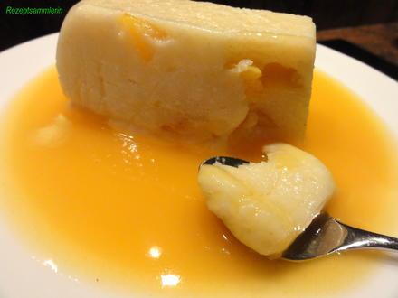 Dessert:   MANGO-SAHNE-GRIESS-SCHNITTEN - Rezept - Bild Nr. 5650