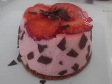 Erdbeer-Törtchen mit Waffelboden - Rezept - Bild Nr. 5689