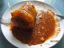 Gefüllte Paprika mit Hirse und Schafskäse - Rezept - Bild Nr. 5653
