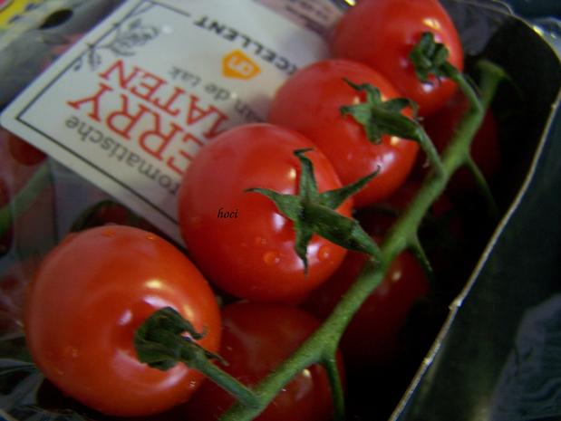 Illustrer Salat mit warmer Tomate - Rezept - Bild Nr. 5659