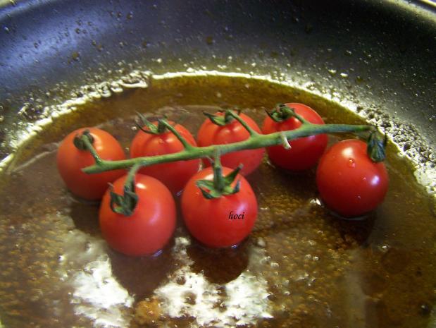 Illustrer Salat mit warmer Tomate - Rezept - Bild Nr. 5662