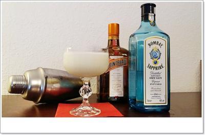 White-Lady-Gin ➯ Cocktail - Rezept - Bild Nr. 5655