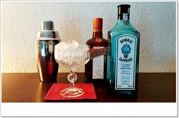 White-Lady-Gin ➯ Cocktail - Rezept - Bild Nr. 5657