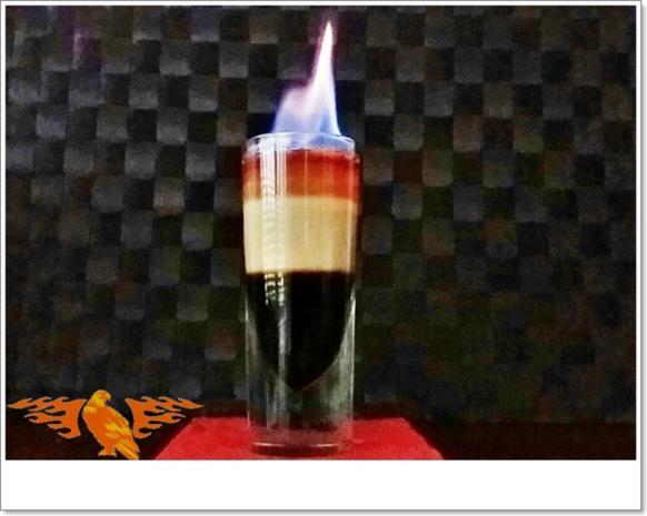 """""""B-52  SHOT"""" ➯ Drink  mit horizontaler Schichtung - Rezept - Bild Nr. 5670"""