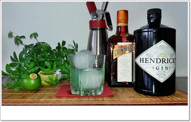 Gin-Waldmeister  ➯ Cocktail - Rezept - Bild Nr. 5668