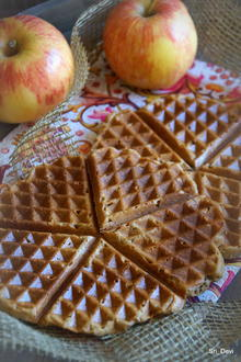 Frühstück: Apfel-Waffeln - Rezept - Bild Nr. 2