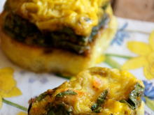 Frühstück: Pikante Rührei-Muffins - Rezept - Bild Nr. 2