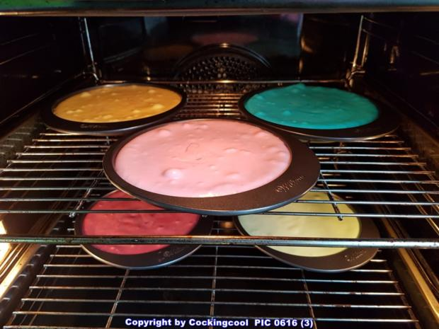 "Biskuit ""Naked Cake"" mit ""Dominotorte"" - Rezept - Bild Nr. 5682"