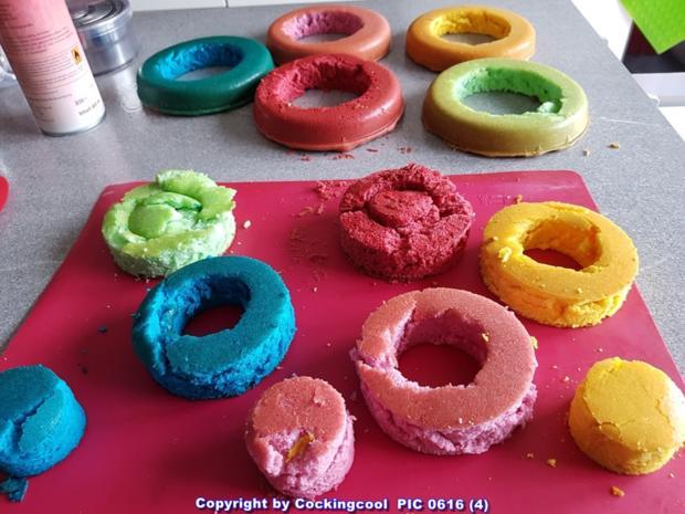 "Biskuit ""Naked Cake"" mit ""Dominotorte"" - Rezept - Bild Nr. 5683"