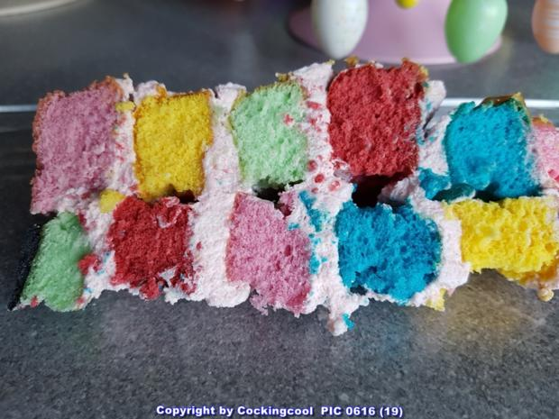 "Biskuit ""Naked Cake"" mit ""Dominotorte"" - Rezept - Bild Nr. 5694"