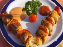 Würstchen-Gemüse-Spieße - Rezept - Bild Nr. 5678