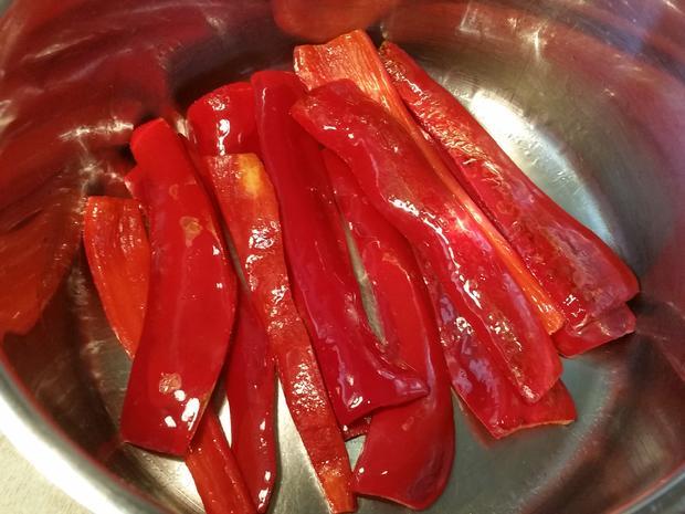 Rote Spitzpaprika ... - Rezept - Bild Nr. 5686