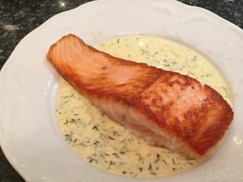 Rezept: Senf Dill Sauche - köstlich zu Fisch