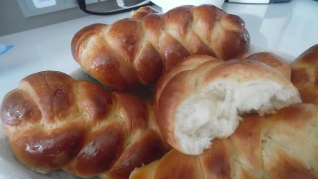 Zopf-Milch-Brötchen - Rezept - Bild Nr. 5685