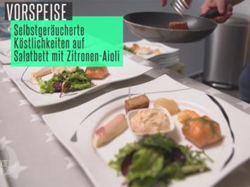 Verschiedene Köstlichkeiten aus dem Räucherofen mit Pull-Apart-Bread - Rezept - Bild Nr. 5697