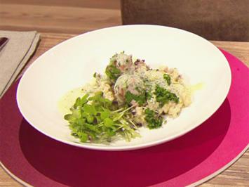 Rezept: Nudeln mit Chili-Mascarpone-Sauce und Zicklein (Gesine Cukrowski)
