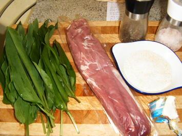 Schweinefilet mit Bärlauchkruste - Rezept - Bild Nr. 5690