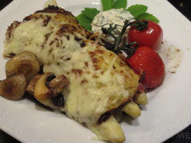 Gemüse: Spargel, versteckt in Kartoffelpuffern - Rezept - Bild Nr. 5702
