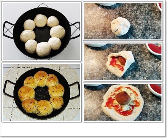 Party- Bällchen aus dem Ofen und BBQ Sauce dazu - Rezept - Bild Nr. 5705