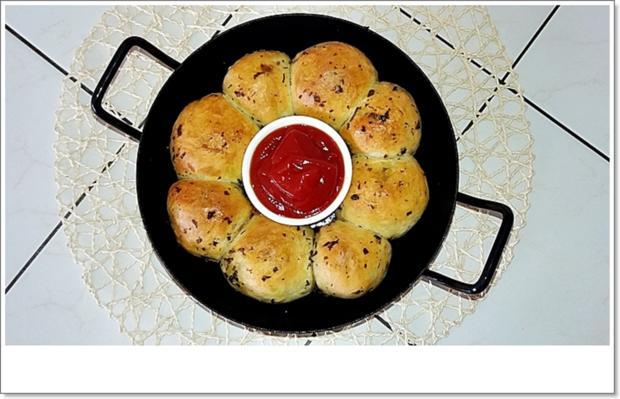 Party- Bällchen aus dem Ofen und BBQ Sauce dazu - Rezept - Bild Nr. 5709