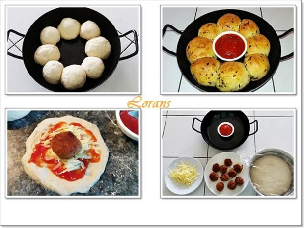 Party- Bällchen aus dem Ofen und BBQ Sauce dazu - Rezept - Bild Nr. 5712